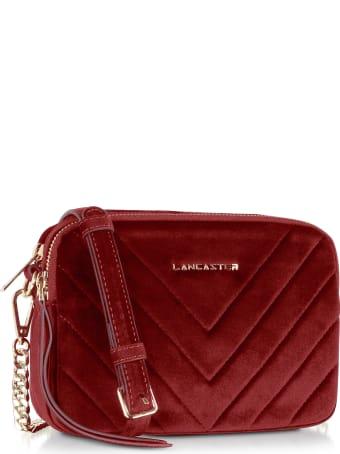 Lancaster Paris Quilted Velvet Couture Camera Bag