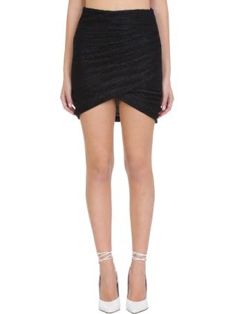 IRO Brendal Skirt In Black Nylon