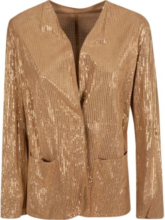 Emporio Armani Ribbed Knit Jacket