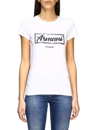 Armani Collezioni Armani Exchange T-shirt Armani Exchange Short-sleeved T-shirt With Logo