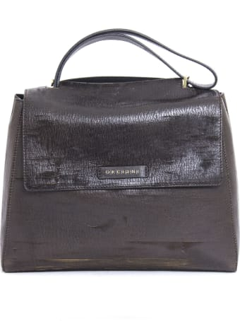 Orciani Brown Leather Sveva Bag