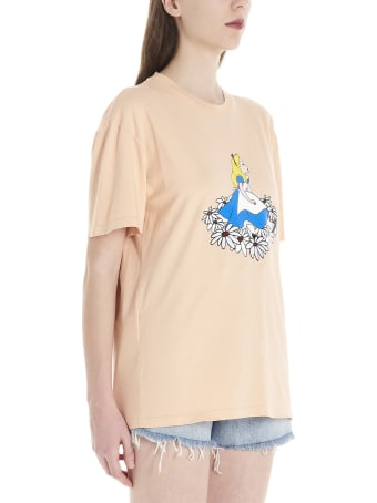 Miu Miu 'alice In Wonderland' Capsule Disney T-shirt