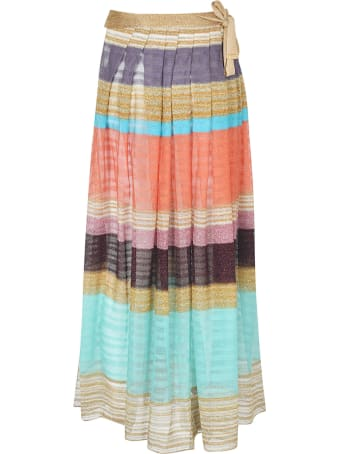 Missoni Pleated Long Skirt