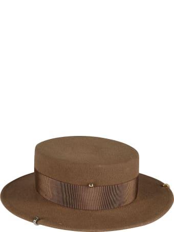 Ruslan Baginskiy Safety Pin Embellished Hat