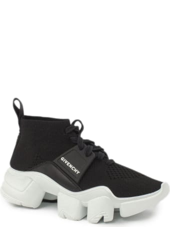 Givenchy Black Chunky Slip-on Logo Sneakers