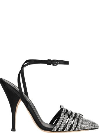 Marco de Vincenzo Crystal-embellished Sandals