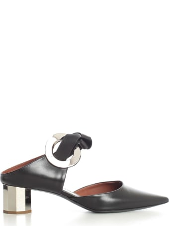 Proenza Schouler Closed Sandals W/40 Heel And Knot