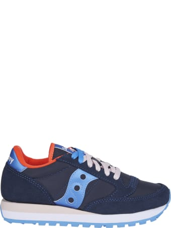 Saucony Blue And Light Blue Jazz Original Sneakers
