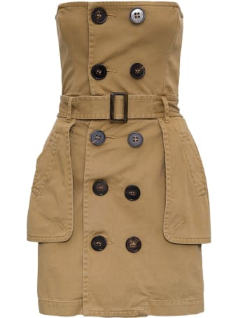 Dsquared2 Deconstructed Trench Dress
