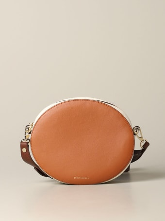 Strathberry Mini Bag Strathberry Breve Handbag In Tricolor Leather