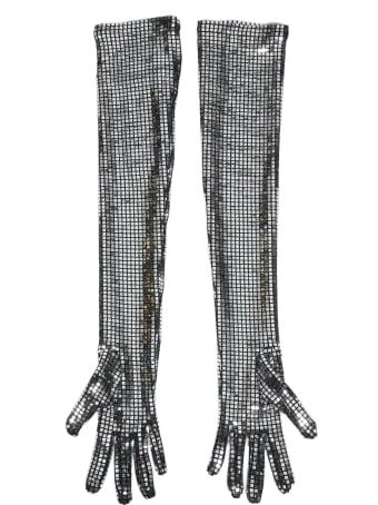 MM6 Maison Margiela Long Metal Gloves