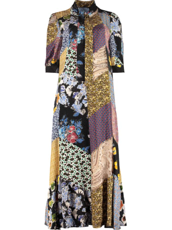 Prada Floral Patchwork Dress