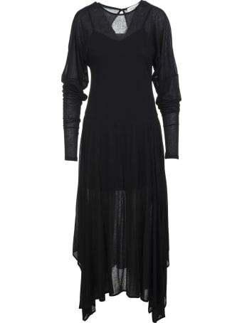 Max Mara Black Haway Midi Dress