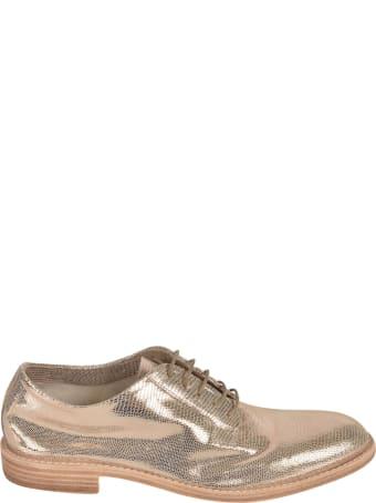 Del Carlo Metallic Kass Oxford Shoes