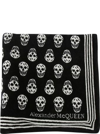 Alexander McQueen Skull Motif Scarf