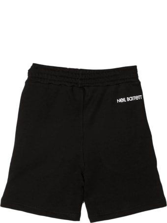 Neil Barrett Black Cotton Shorts