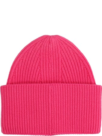 Laneus Hats In Rose-pink Cashmere