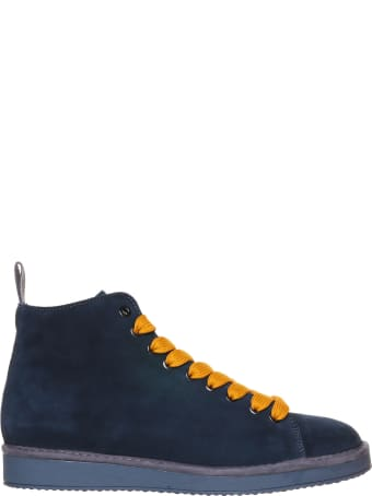 Panchic Panchic Blue Ankle Boot