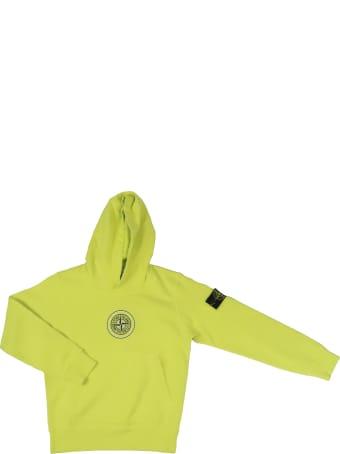 Stone Island Junior Cotton Sweatshirt