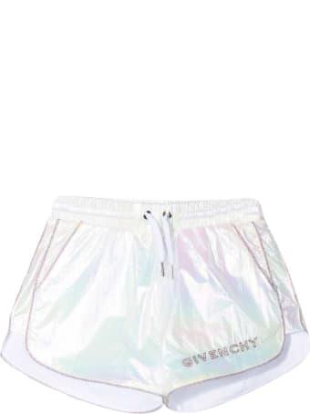 Givenchy White Shorts