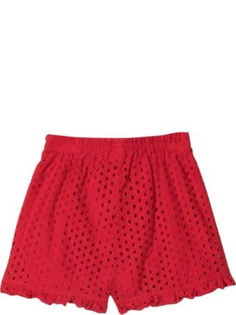 Monnalisa Red Shorts