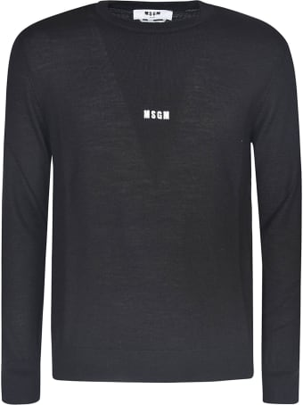 MSGM Chest Mini Logo Sweater