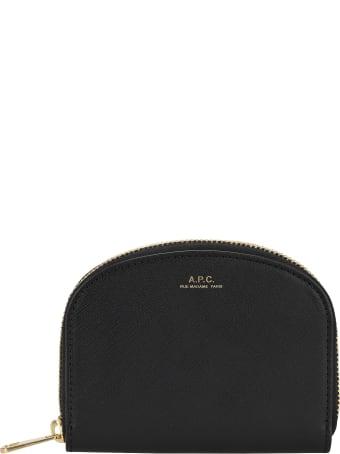A.P.C. Demi-lune Compact Wallet