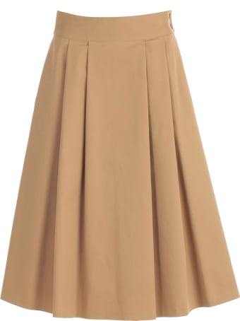 Aspesi Skirt Long W/pleats