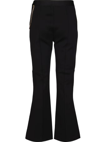 Givenchy Black Viscose Blend Trousers