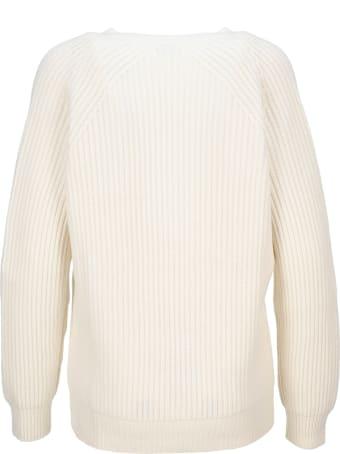 Tom Ford Soft Cashmere Rib V-neck Top