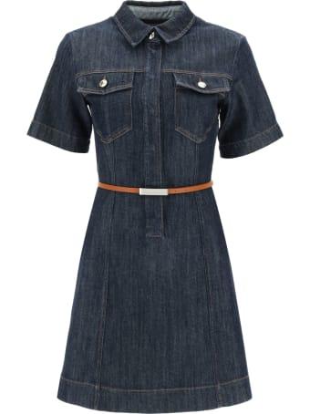 SportMax Denim Mini Dress