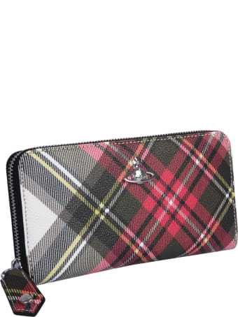 Vivienne Westwood Yasmine Zip Around Wallet