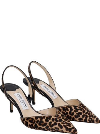 Jimmy Choo Thandi 65 Pumps In Animalier Pony Skin