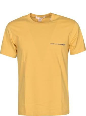 Comme des Garçons Shirt Boy Round Neck Logo Detail T-shirt