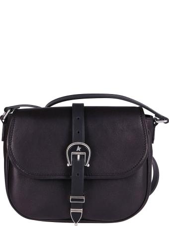 Golden Goose Black Leather Shoulder Bag
