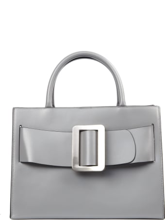 BOYY Grey Leather Bobby Bag