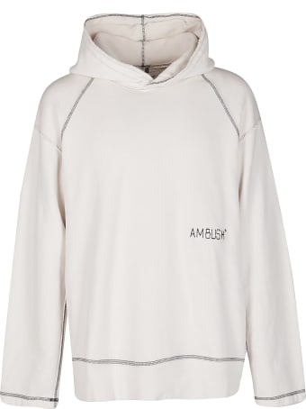 AMBUSH White Cotton Sweatshirt