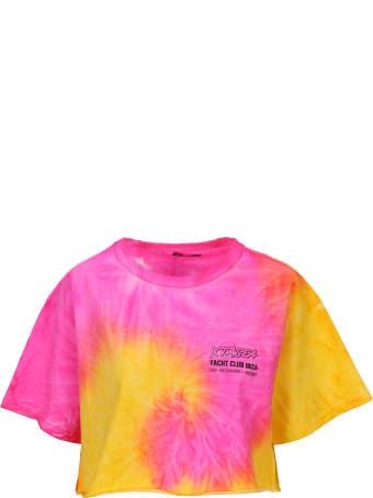 MISBHV Xtasea Spiral Tie Dye Crop