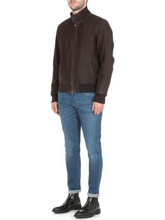 Stewart Brushed Leather Jacket