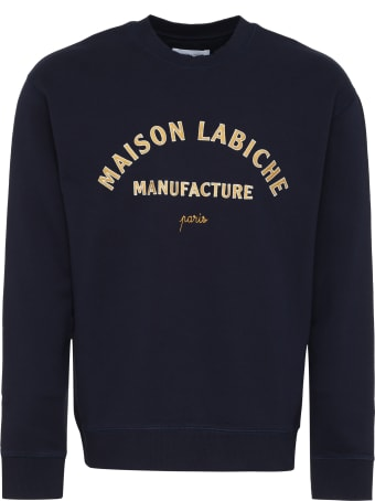 Maison Labiche Embroidered Cotton Sweatshirt