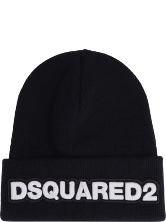 Dsquared2 Ribbed Knit Beanie