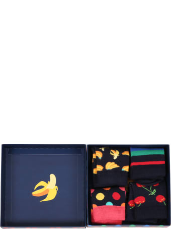 Happy Socks Blue Multicolor For Babygirl