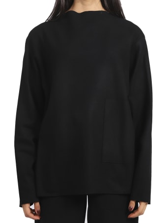 Barena Black Adelia Rova Sweater