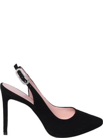 Anna F. Embellished Buckle Sandals
