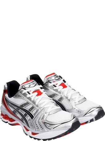 Asics Gel-kayano 14 Sneakers In White Synthetic Fibers