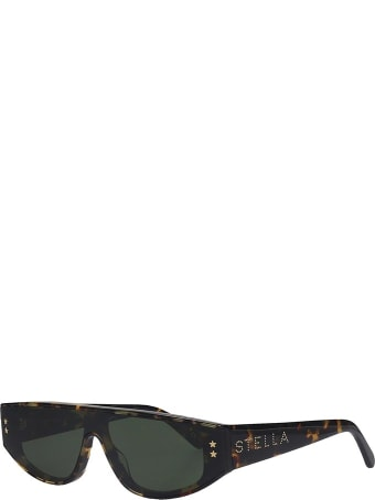 Stella McCartney Sunglasses In Green Pvc