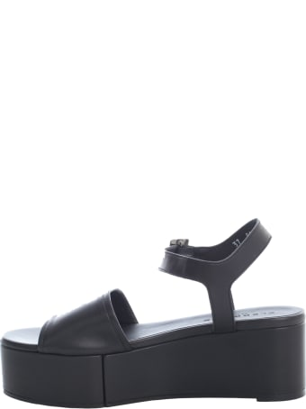Clergerie High Platform Sandals W/belt On Ankle And One Band