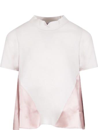 Owa Yurika Grey And Pink ''olive'' Girl T-shirt