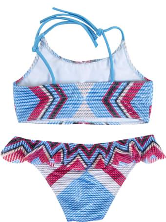Pin-Up Stars Little Girl Bikini With Ruffles