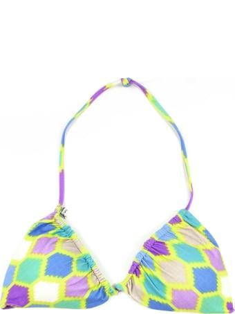 Fisico - Cristina Ferrari Lime Green Bikini Top